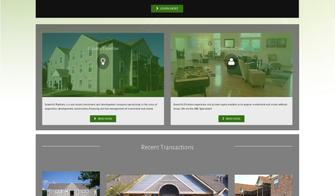 Greenhill Partners Website