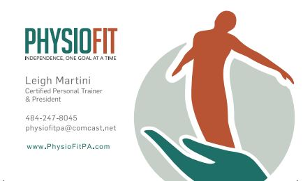 Physio Fit Business Card